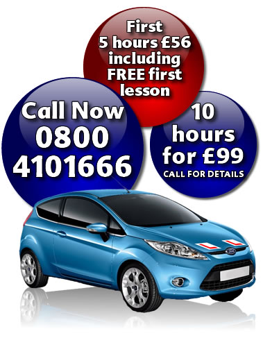 get driving lessons Wakefield with Target Driving School